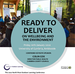 The 2020 IOL NW Outdoor Learning Conference - A DATE FOR YOUR DIARY!