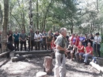 Participants had a great time at the 2 day IOL Bushcraft summer event