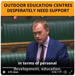 MP secures meeting with Education minister over plight of outdoor education centres