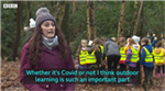 Covid: More teachers turn to outdoor classes - BBC Wales report